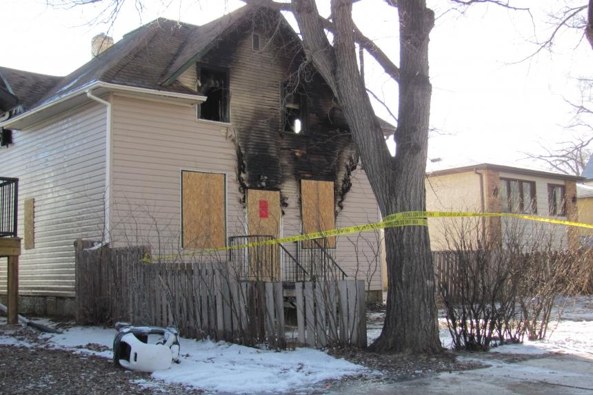 Fire damages home in Regina's Core neighbourhood