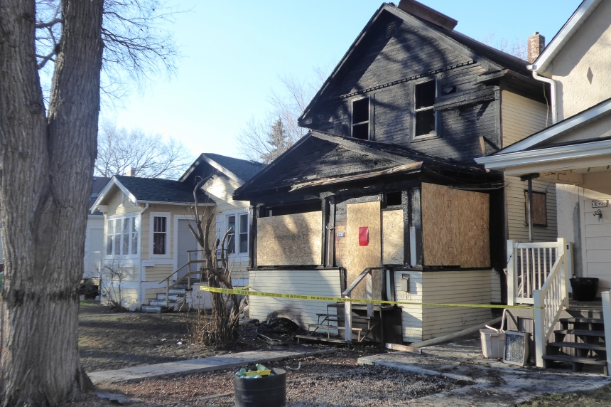 Regina home destroyed by Saturday night fire