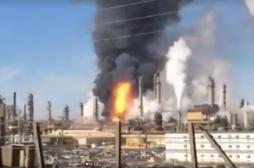 Syncrude responding to fire at upgrader at oilsands site in northern Alta.