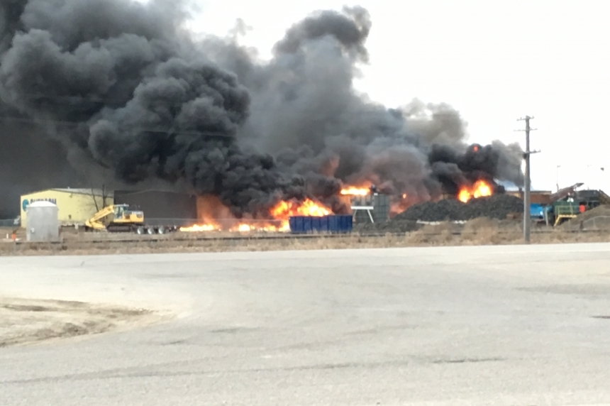 Fire out at Shercom, province to begin investigation