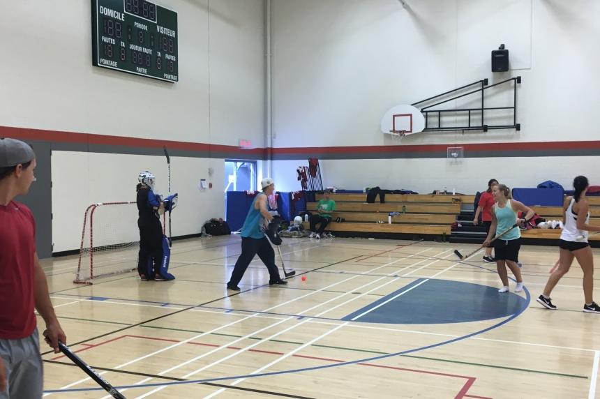Group in Regina trying to break world record for floor hockey