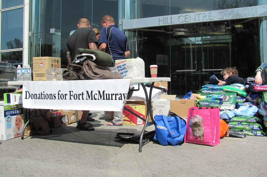 Regina group collects donations for Fort McMurray evacuees