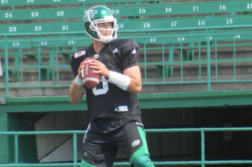 Roughriders' Mitchell Gale will start at quarterback against Ottawa