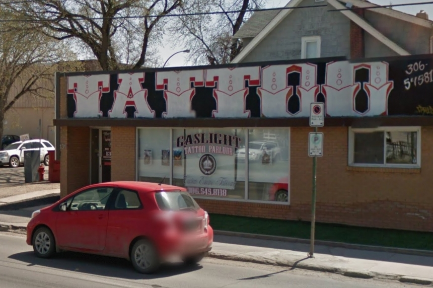 Fire at Gaslight Tattoo Parlour in Regina deliberately set