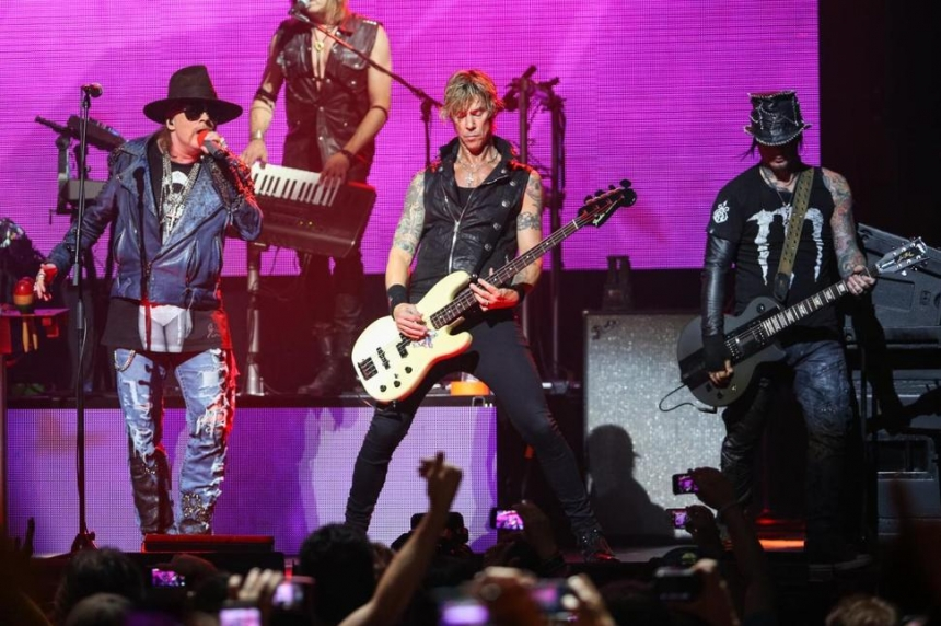 Welcome to the jungle: Guns N' Roses coming to Regina in Aug. 2017