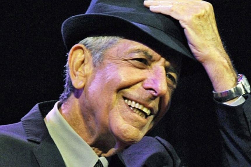 Leonard Cohen dead at 82