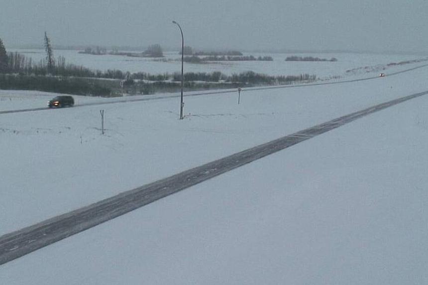 Southern Sask. highways remain slick