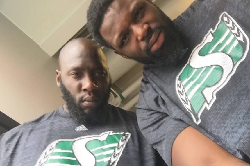 Jarriel King and his family find new home with Roughriders