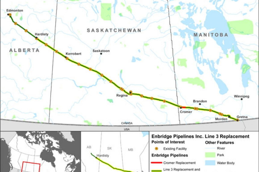 Liberals approve Trans Mountain, Line 3 pipeline projects