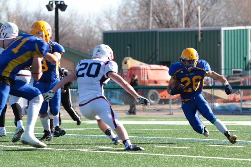 Hilltops face off against Sun in  Canadian Bowl