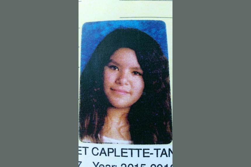 Missing 12-year-old Regina girl Margaret Caplette-Tanner found