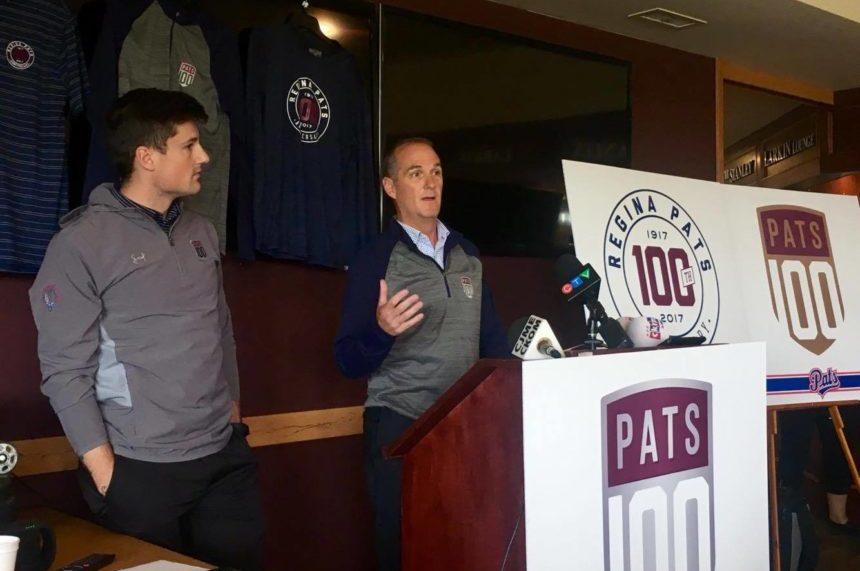Regina Pats unveil new logo for 100th anniversary season