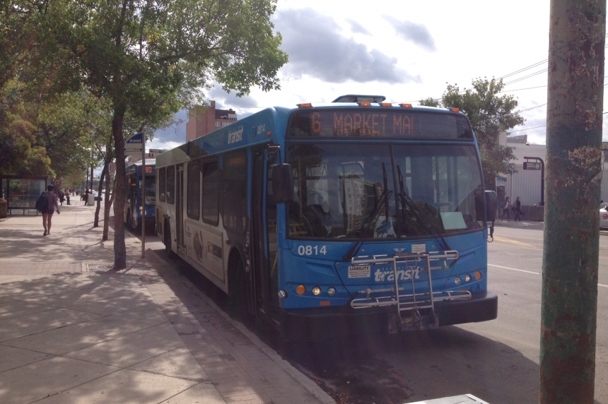 Saskatoon city transit disruptions for Thursday afternoon