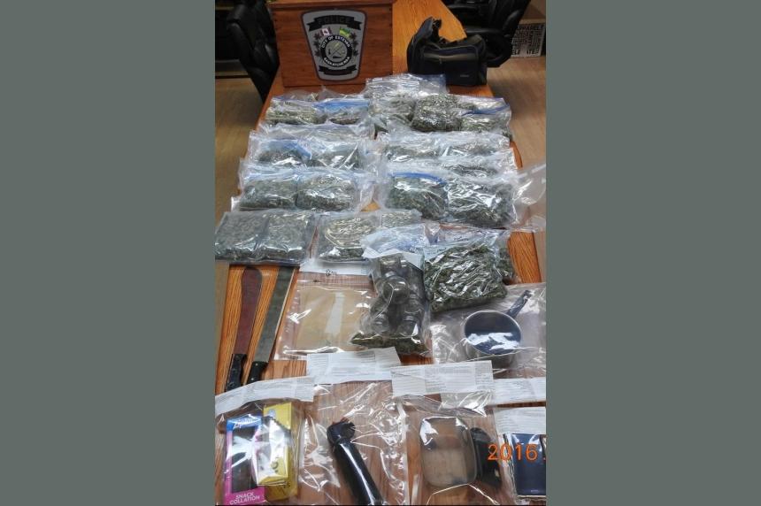 Estevan police make big drug bust