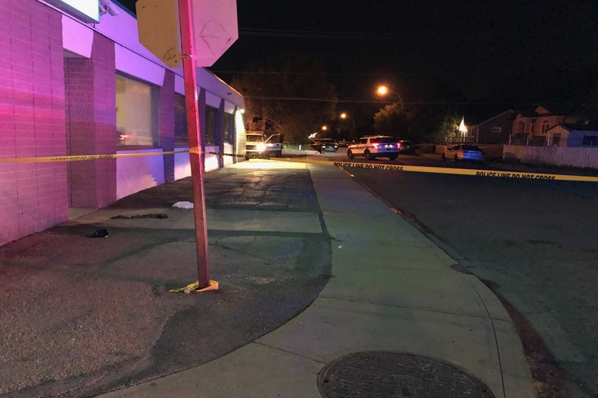 Three men sent to hospital after assault in Broders Annex