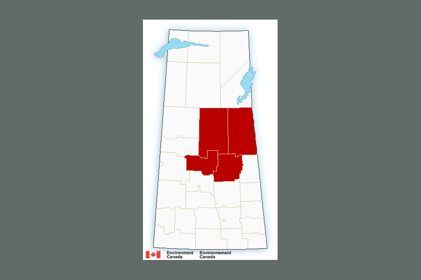 UPDATE: Snowfall warnings in some parts of Sask.