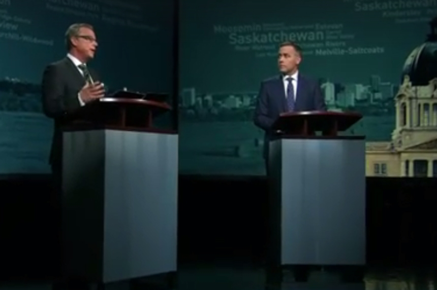 Wall given the win in leaders' debate poll