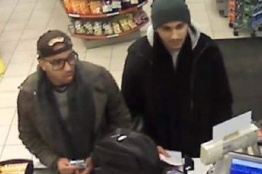 Saskatoon police search for duo behind card skimming