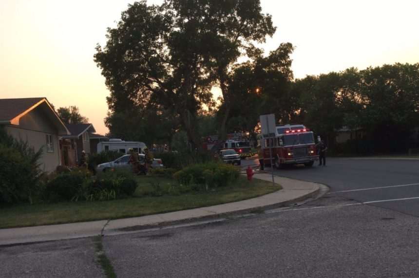 SaskPower meter causes fire at Walsh Acres home: neighbour