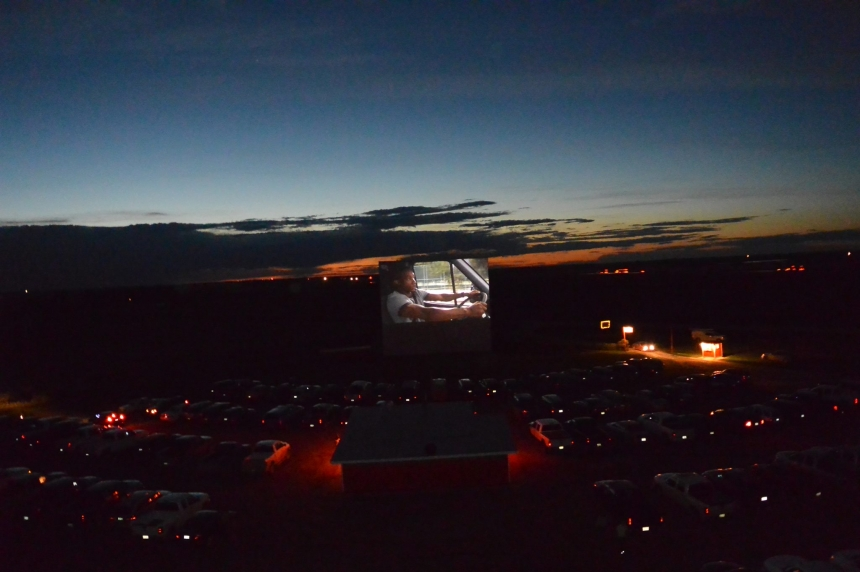 Blast from the past: Sask. drive-in theatre opens for year