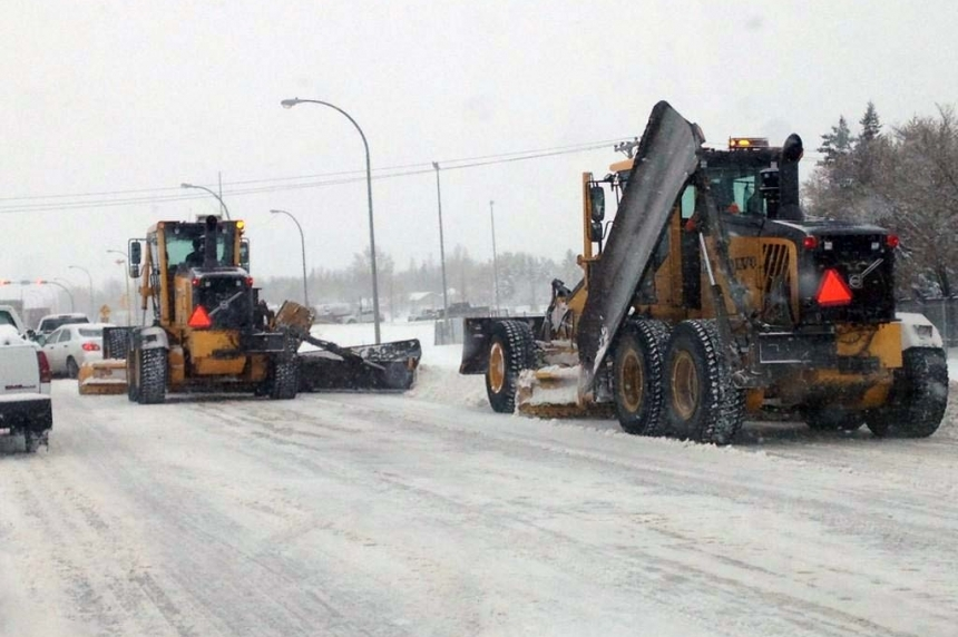 Proposal for parking bans on snow routes in Regina