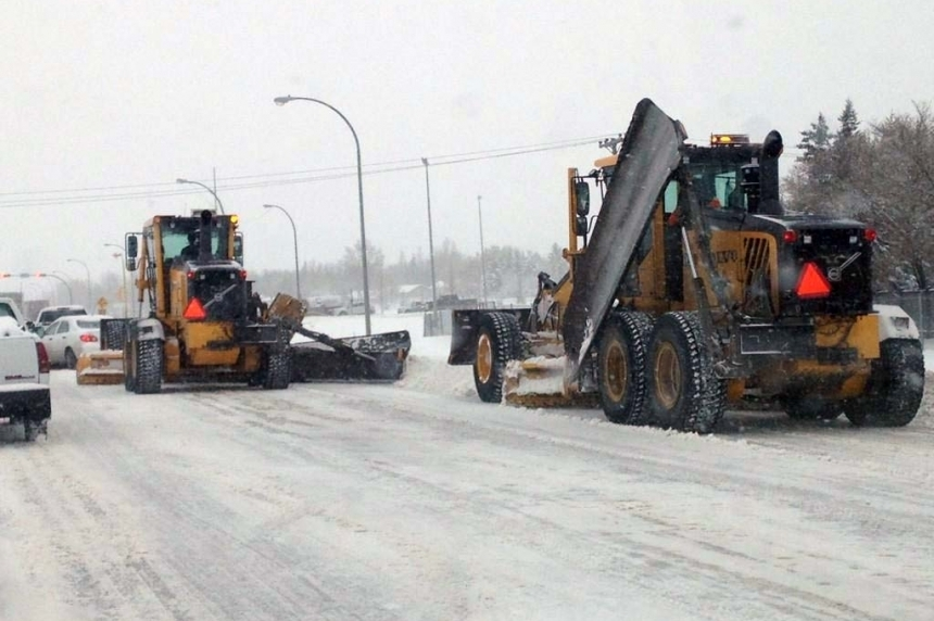 Snow and strong wind expected for western Sask.