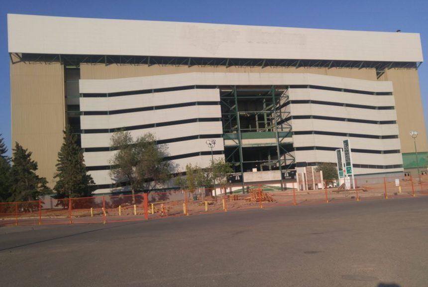 End of an era: deconstruction begins at Mosaic Stadium