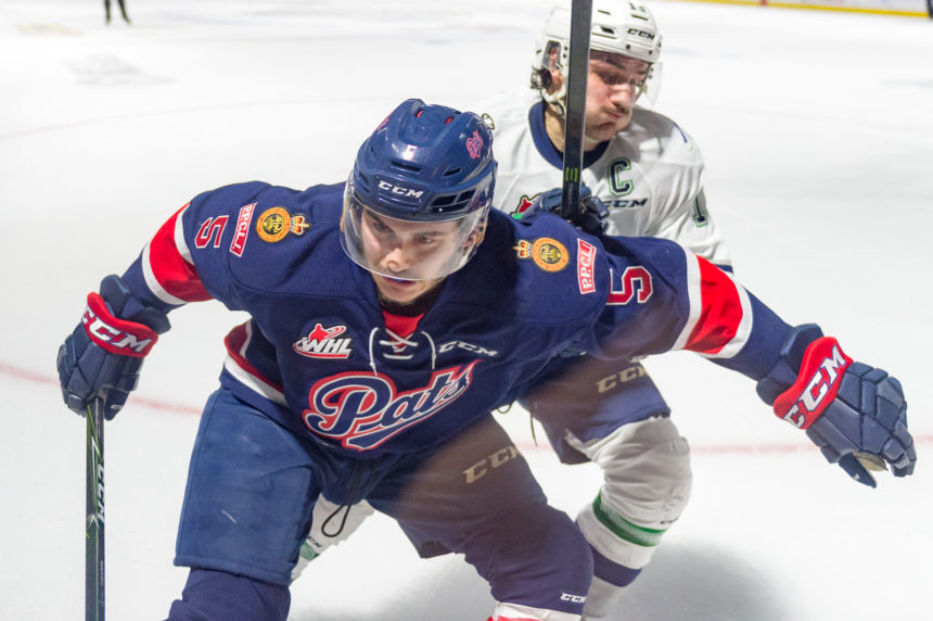 6 Regina Pats off to NHL training camps
