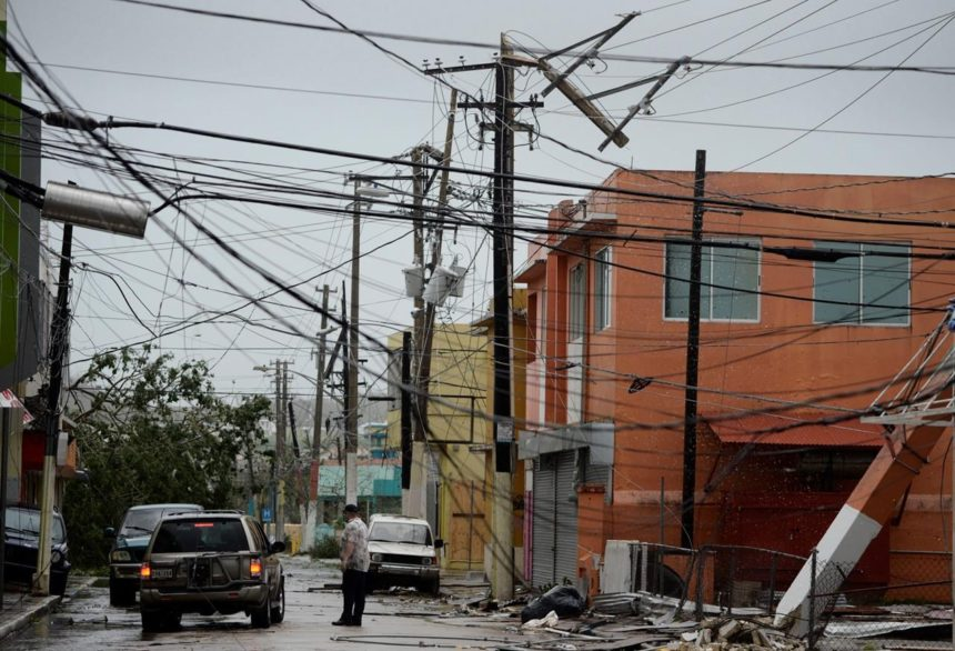Maria destroys homes, triggers flooding in Puerto Rico