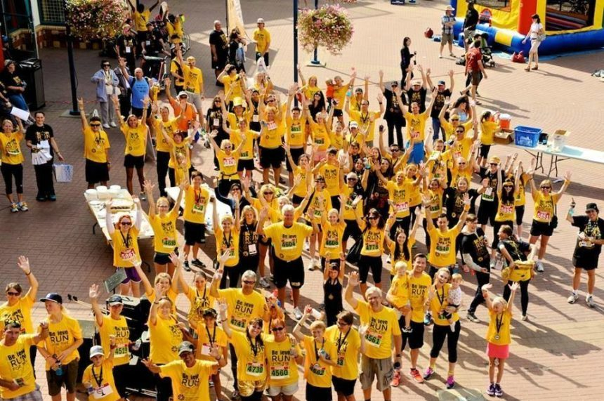 First ever Run for Childhood Cancer in Regina on Saturday