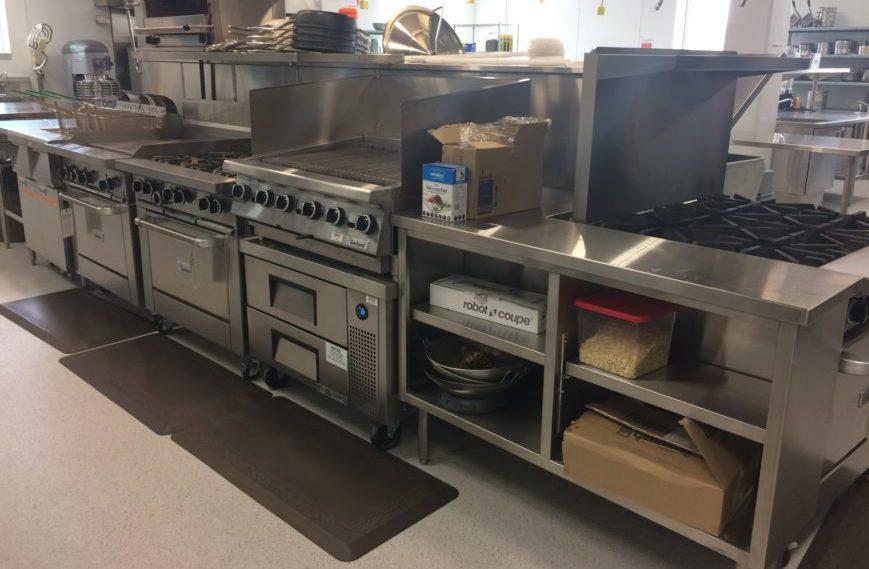 A commercial kitchen is included in mâmawêyatitân centre. (Kevin Martel/980 CJME)