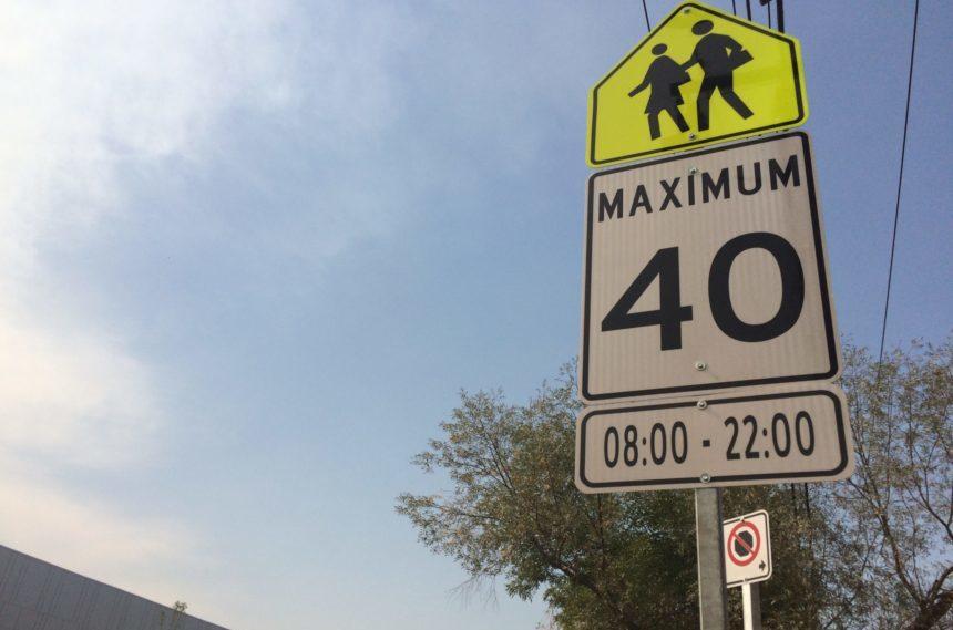 Regina school zone hours, speed could change