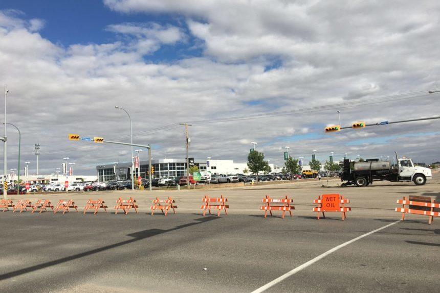 Highway 1 east of Regina returns to capacity