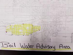 MJ Boil Water Map DiscoverMooseJaw