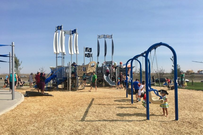 Regina's newest southeast area features pirate-themed park