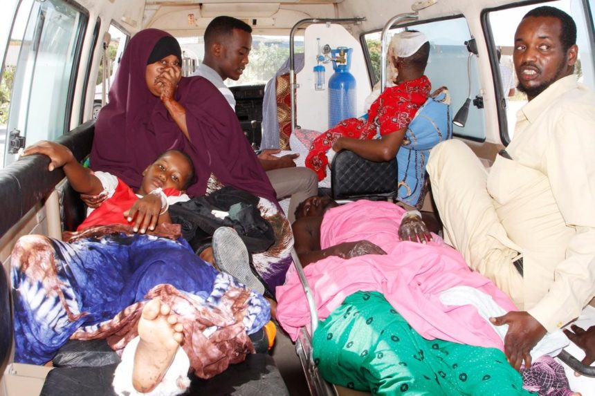 Somalia truck bombing toll over 300 as funerals continue