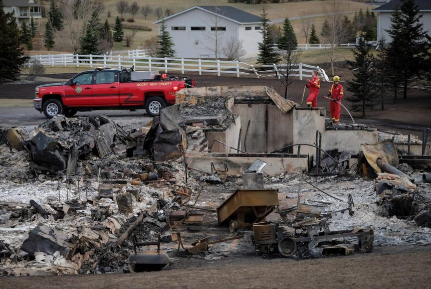 'It will devastate the community:' Alberta firefighter dies battling wildfire