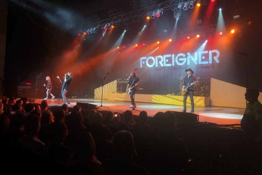 Foreigner performs at Regina Conexus Arts Centre Oct. 16 2017. (Britton Gray/980 CJME)