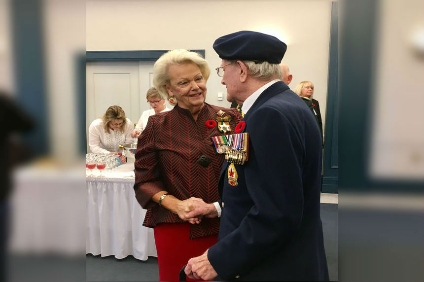 Sask. Lieutenant Governor kicks off 2017 Poppy Campaign