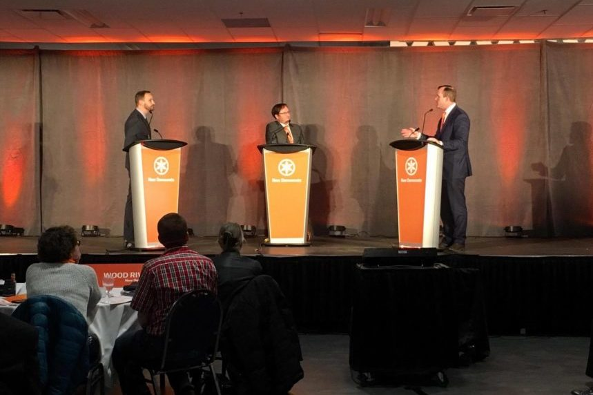 Sask. NDP hold first leadership debate at annual convention