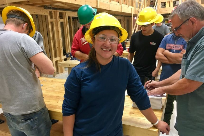 Regina woman finds empowerment in the skilled trades