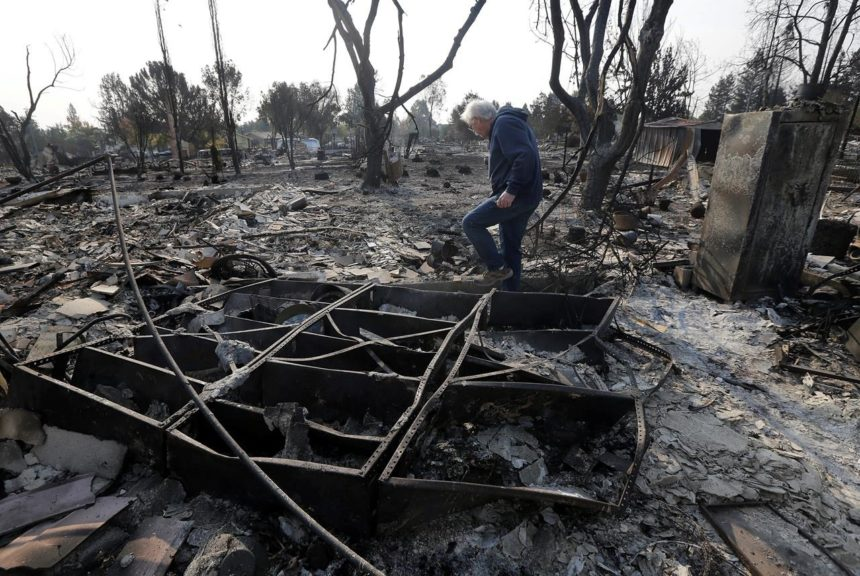 Deadly California wildfires flare up and swallow more homes