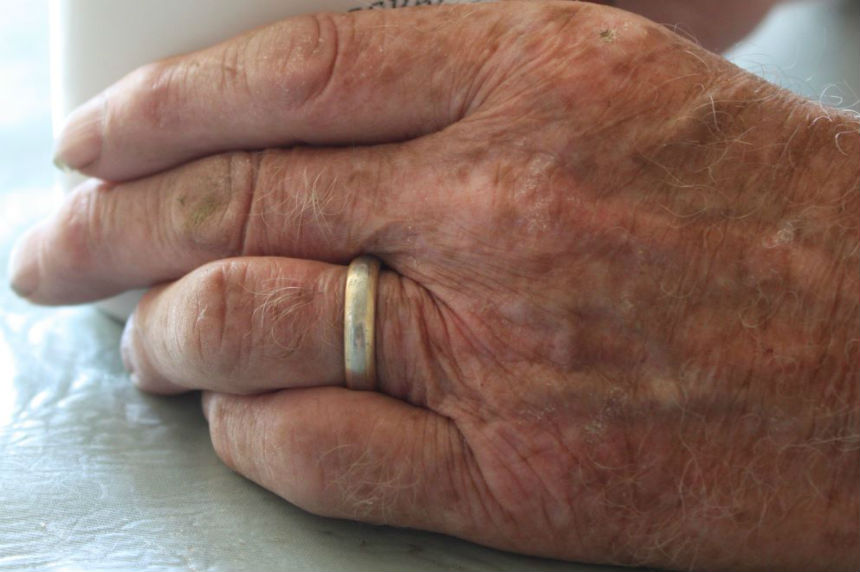 Sask. man reunited with long-lost wedding ring