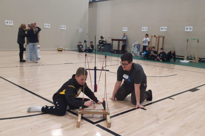 Grade 6 students aim high with 'rocket launch' contest
