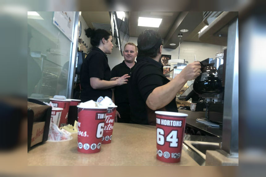 Regina's 1st First Nations owned Tim Hortons opens