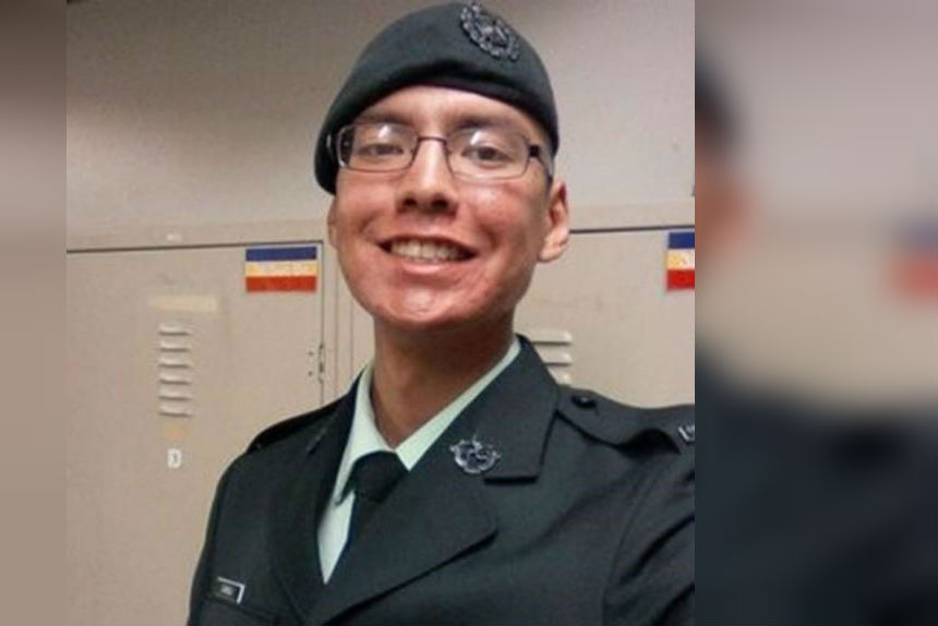 One person was killed in an accident during training at CFB Shilo