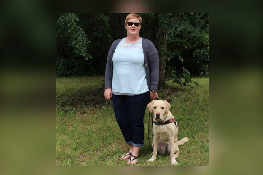 Blind woman, guide dog denied entry to Regina Chuck E. Cheese's