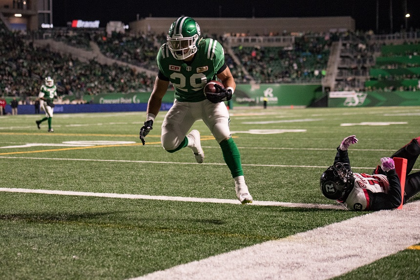 Riders' LaFrance ready for another snowy game