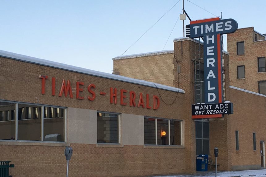 Former employee reflects on Moose Jaw Times-Herald