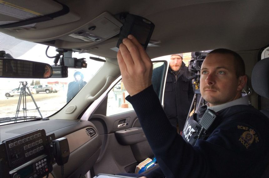 Mounties unveil new in-vehicle video cam system